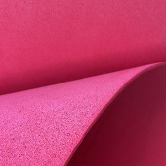 Tissu gomme caoutchouc Eva rouge au mètre