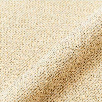 Toile aïda métallisée 5,5points/cm dorée au mètre