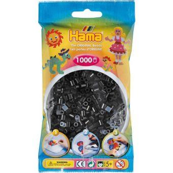 1 000 perles standard midi (diamètre 5 mm) noir