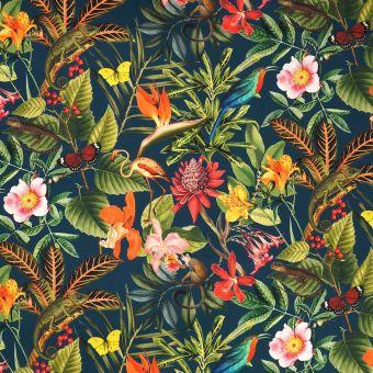 Tissu toile extérieure jungle
