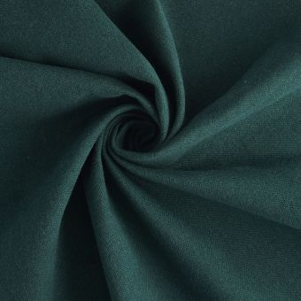 Tissu demi natté vert coton recyclé