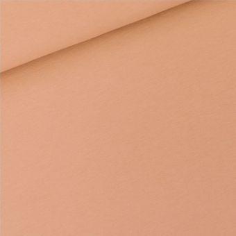 Tissu molleton french terry sweat couleur café crème uni See You at Six