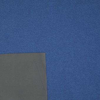 Tissu coupe-vent imperméable bleu et gris