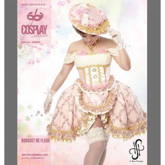 Patron robe de cabaret - Cosplay