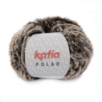 Fil à tricoter Katia Polar fauve
