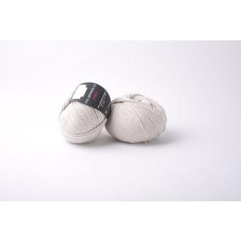 Pelote de laine Phildar Mérinos 3,5 beige clair