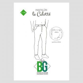 Patron pantalon chino homme - Les BG