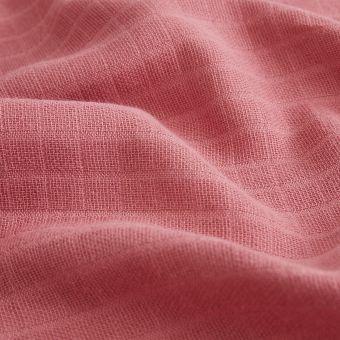 Tissu lange bio blush