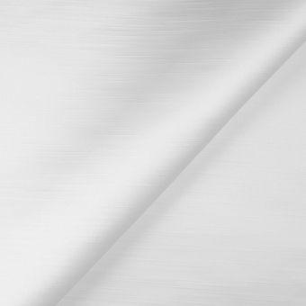 Tissu satin doupionné uni blanc Ascot