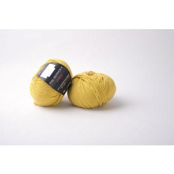 Pelote de laine Phildar Mérinos 6 jaune