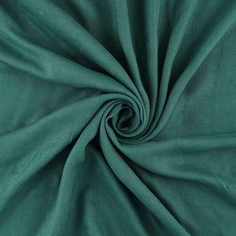 Tissu popeline bambou vert