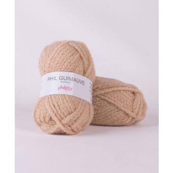 Fil à tricoter Phildar guimauve chamois