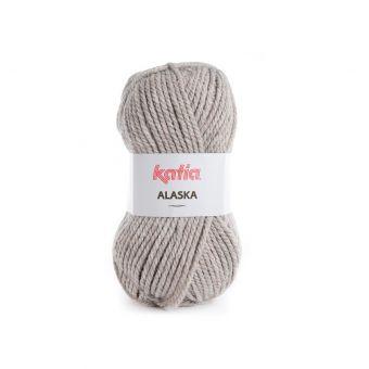Fil à tricoter Katia Alaska beige moyen