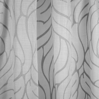 Tissu voile arabesques lin