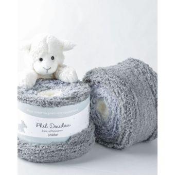 Fil à tricoter Phildar doudou rhinocéros