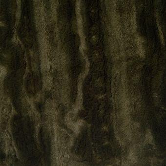 Fausse fourrure légère vert kaki