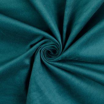 Tissu coton velours côtelé EL émeraude