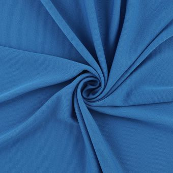 Tissu sport bleu antibactérien respirant