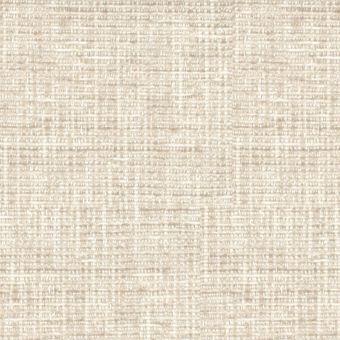 Tissu velours épais pour fauteuil Cassel blanc