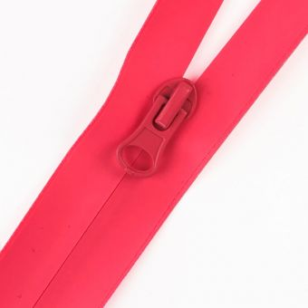 Fermeture à glissière étanche fluo rose au mètre