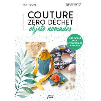 Livre Couture zéro déchet objets nomades