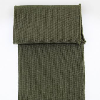 Bas de blouson et poignet rigide vert kaki