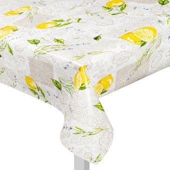 Toile cirée citrons