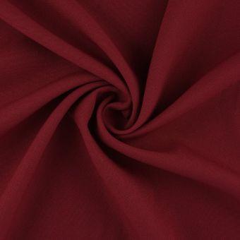 Tissu polyester Burlington bordeaux