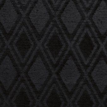 Tissu jacquard lourd Sophia noir