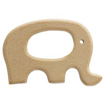 Anneau de dentition en bois éléphant