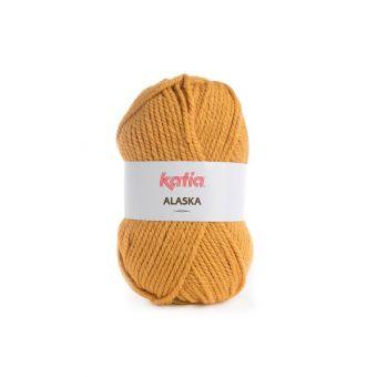 Fil à tricoter Katia Alaska jaune safran