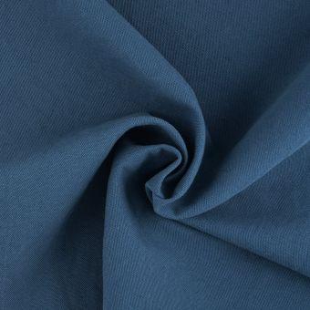 Tissu métis vintage bleu pétrole