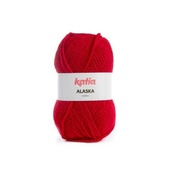 Fil à tricoter Katia Alaska rubis