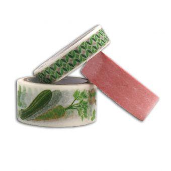 Masking tape Légumes - Lot de 3 - Toga