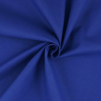Tissu coton uni Sweetie grande largeur bleu navy