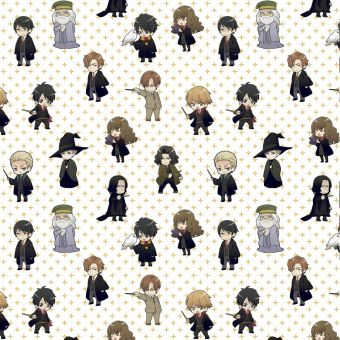 Tissu coton Harry Potter