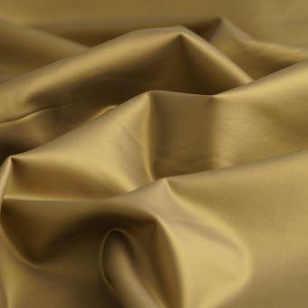 Simili cuir extensible doré