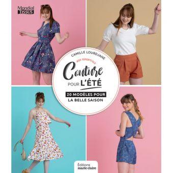 Livre Couture pour l'été