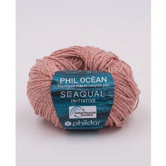 Pelote de fil à tricoter Phildar Ocean terracotta