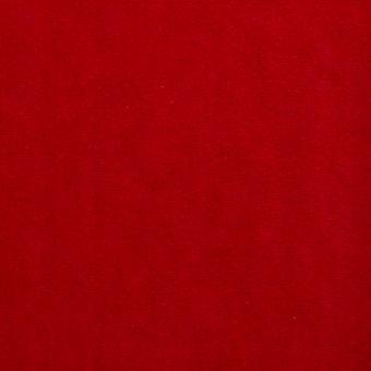 Velours éponge rouge