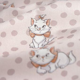 Tissu coton aristochats Marie