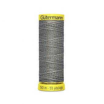 Bobine de fil de lin Gütermann - Gris