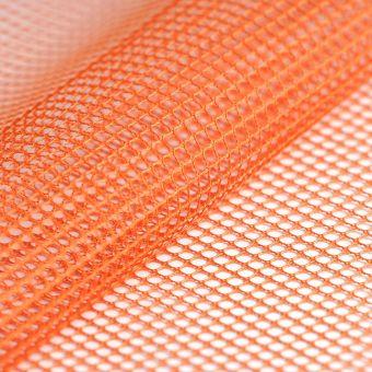 Tissu filet mesh orange