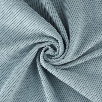 Tissu velours côtelé First bleu ciel