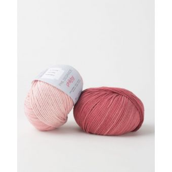 Fil à tricoter Phildar dégradé griotte