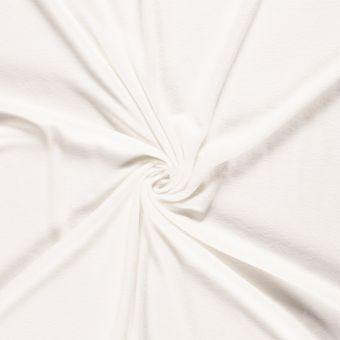 Tissu polaire unie écru