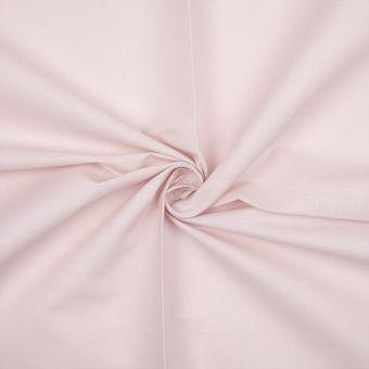 Tissu coton bio uni rose