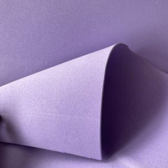 Tissu gomme caoutchouc Eva lilas au mètre