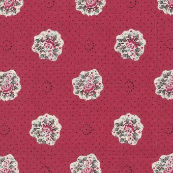 Tissu provençal Maianenco rose lilas