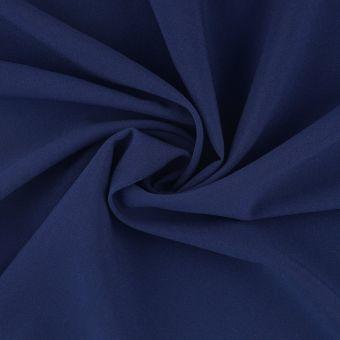 Tissu gabardine polyester recyclé marine